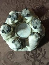 Pug Candle Holder in Chicago, Illinois