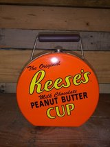 Reese's tin container in Kingwood, Texas