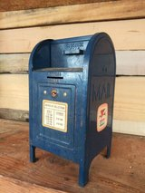Miniature vintage mailboxes in Spring, Texas