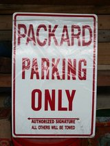 Packard Sign in Houston, Texas