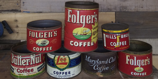 Coffee cans. 1 left! (Maryland Club) in Houston, Texas