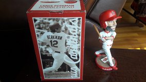 Lance Berkman bobblehead in Fort Leonard Wood, Missouri