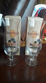 NEW - Hard Rock Cafe Paris Hurricane Glasses in Fort Leonard Wood, Missouri