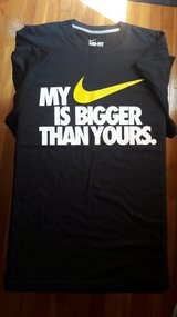 "NEW - Nike ""Bigger Than Yours"" T shirt  Size XXL in Fort Leonard Wood, Missouri"