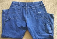 Wrangler 42x30 Carpenter Jeans in Yorkville, Illinois