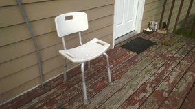 Nova Shower Chair with Back 9020 in Plainfield, Illinois