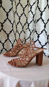 BRASH tan strappy heels in Dyess AFB, Texas