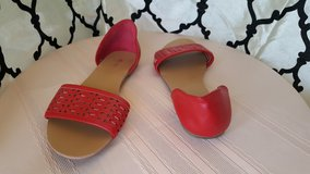 Nicole Red Sandal in Dyess AFB, Texas