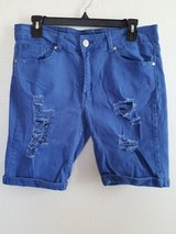 VIP JEANS blue shorts in Dyess AFB, Texas