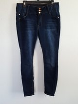 HAILEY skinny blue jeans in Dyess AFB, Texas
