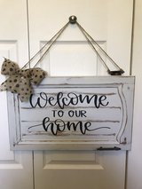 Repurposed House Sign in Naperville, Illinois