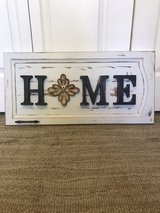Repurposed Home Sign in Joliet, Illinois