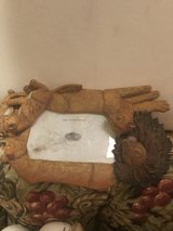 Lion picture frame in Alamogordo, New Mexico