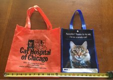"""""""Cat"""" Reusable Totes in Naperville, Illinois"""