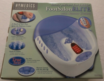 Homedics PB-200M Luxury Foot Bath with Bbbles/Massage/Infrared - US 110V (70W) in Lakenheath, UK