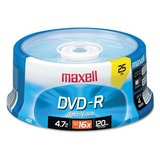 Maxell DVD-R Discs, 4.7GB, 16x, Spindle, Gold, 10/Pack in Spring, Texas