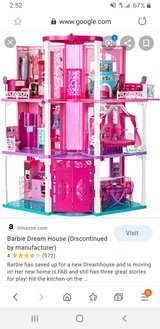 Barbie Dream House and accessories in Fort Lewis, Washington