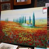 Beautiful Hugh Landscape Oil Painting      Article number: 048255 in Ramstein, Germany