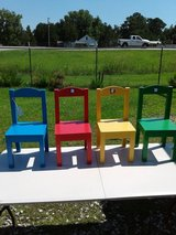 4 Kids Chairs #1326-2595 in Camp Lejeune, North Carolina