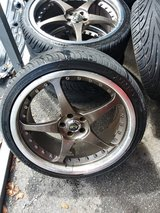 19inch ADR DESIGN rims w/ good tires in Camp Lejeune, North Carolina