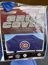 New! Official Chicago Cubs grill cover in Naperville, Illinois
