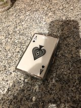 Ace of Spade Compact (16 100s) Metal-Plated Cigarette Case & Stash Box in Ramstein, Germany