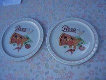 Two Pizza Plates in Ramstein, Germany
