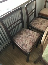 four old chairs in Jacksonville, Florida