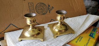 brass candle holders set of 2 in Camp Lejeune, North Carolina