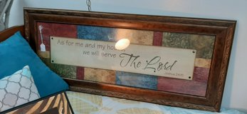Wall picture serve the Lord in Fort Leonard Wood, Missouri