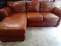 Leather Couch in Spring, Texas