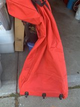 Christmas tree storage bag with wheels in Travis AFB, California