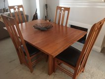 Dining Room Table, Chairs (8) and Side-board in Lakenheath, UK