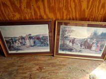 Two large framed and matted pics in Warner Robins, Georgia