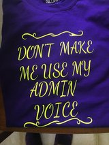 Woman shirt any color and lettering you would like in Camp Lejeune, North Carolina