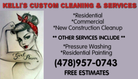 Kelli's Custom Cleaning in Warner Robins, Georgia