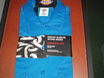 Dickies Blue S/S Men's Work Shirt XL in Yorkville, Illinois
