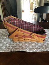 1991 Longaberger Yuletide Traditions Basket with Plaid Liner in Naperville, Illinois