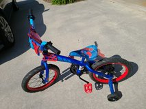 "Boys 16"" Spider-Man bike in Warner Robins, Georgia"
