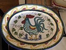 Rooster large turkey plater in Naperville, Illinois