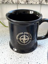 Operation Joint Guard Stabilization Force mug in Ramstein, Germany