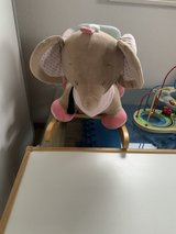 Baby rocking elephant in Spangdahlem, Germany