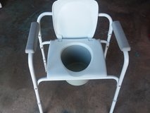 New Bedside Toilet Chair with Bucket in Warner Robins, Georgia
