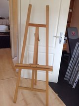 Painters easel in Ramstein, Germany