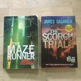 The Maze Runner and The Scorch Trials by James Dashner in Chicago, Illinois