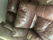 Leather Sectional in Aurora, Illinois