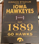 Iowa Hawkeyes Vintage sign- Wall Art in Naperville, Illinois