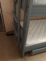 SOLID WOOD Twin over twin bunk beds with ONE mattress in Shreveport, Louisiana