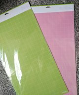 New Cricut maker mats (4) variety pack and fabric grip in Plainfield, Illinois