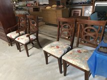 Four dining chairs in Fort Polk, Louisiana